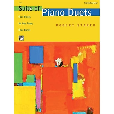 Alfred Suite of Piano Duets - Music Book (ALFRD43746)