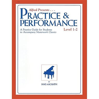 Alfred Masterwork Practice & Performance- Level 1-2 - Music Book (ALFRD43068)