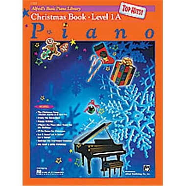 Alfred Basic Piano Course- Top Hits Christmas Book 1A - Music Book (ALFRD40673)