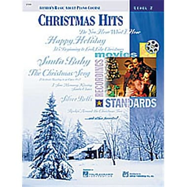 Alfred Basic Adult Piano Course- Christmas Hits Book 2 - Music Book (ALFRD40534)