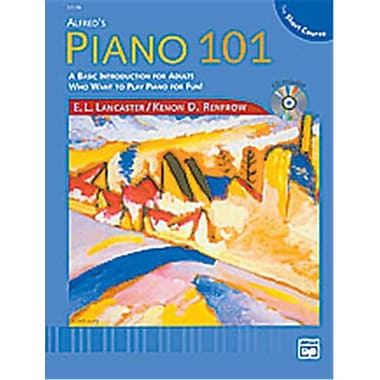 Alfred Piano 101- The Short Course Lesson Book 1 - Music Book (ALFRD40888)
