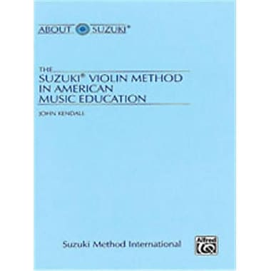 Alfred The Suzuki Violin Method in American Music Education - Music Book (ALFRD48795)