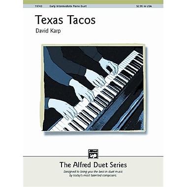 Alfred Texas Tacos - Music Book (ALFRD43771)