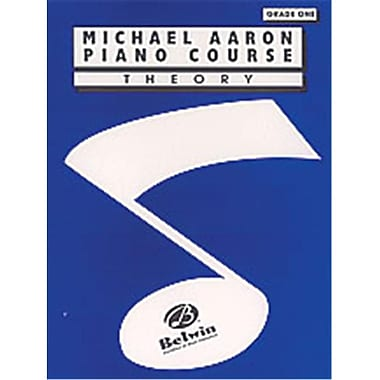 Alfred Michael Aaron Piano Course- Theory- Grade 1 - Music Book (ALFRD40468)