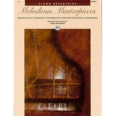 Alfred Melodious Masterpieces- Book 1 - Music Book (ALFRD43101)