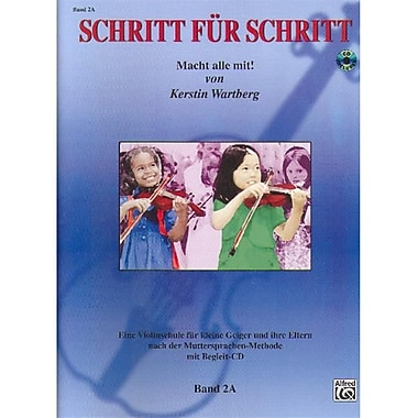 Alfred Step by Step 2A- An Introduction to Successful Practice for Violin - Music Book (ALFRD46643)