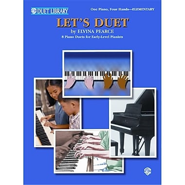 Alfred Let s Duet - Music Book (ALFRD43964)