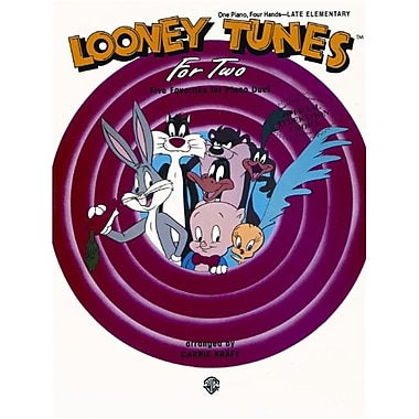 Alfred Looney Tunes for Two - Music Book (ALFRD43967)