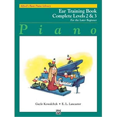 Alfred Basic Piano Course- Ear Training Book Complete 2 & 3 - Music Book (ALFRD40806)