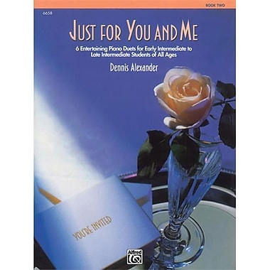 Alfred Just for You & Me- Book 2 - Music Book (ALFRD43874)