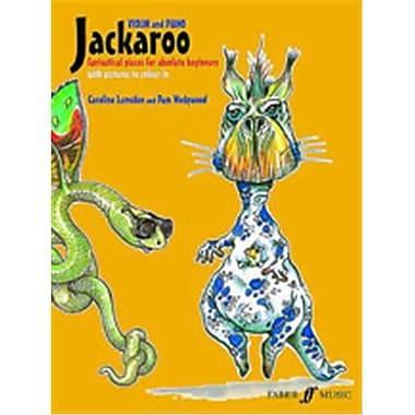 Alfred Jackaroo for Violin and Piano - Music Book (ALFRD46804)