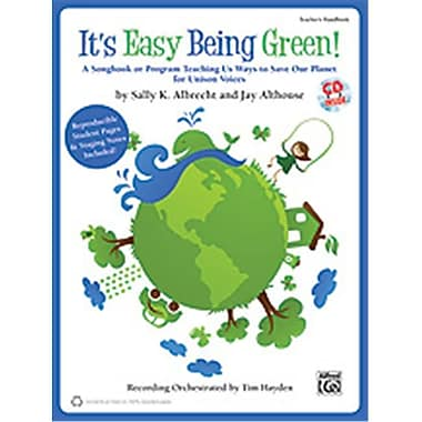 Alfred It s Easy Being Green - Music Book (ALFRD35465)