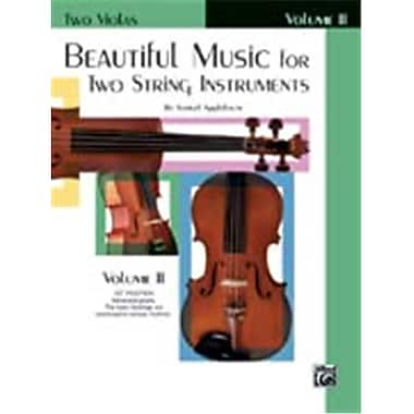 Alfred Beautiful Music for Two String Instruments- Book II - Music Book (ALFRD48330)