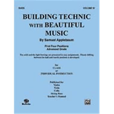Alfred Building Technic With Beautiful Music- Book IV - Music Book (ALFRD48324)