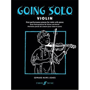 Alfred Going Solo- Violin - Music Book (ALFRD46784)