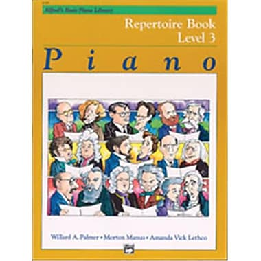 Alfred Basic Piano Course- Repertoire Book 3 - Music Book (ALFRD40793)