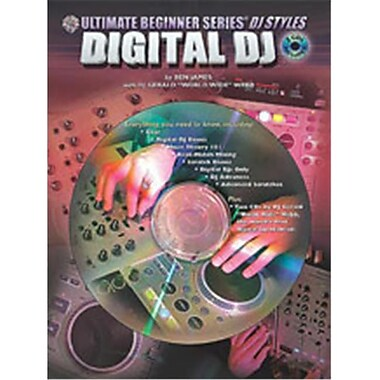 Alfred Ultimate Beginner Series DJ Styles Series- Digital DJ - Music Book (ALFRD48865)