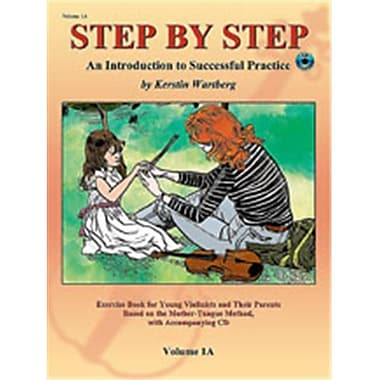Alfred Step by Step 1A- An Introduction to Successful Practice for Violin - Music Book (ALFRD46635)