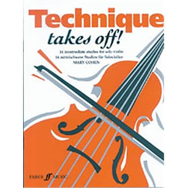 Alfred Technique Takes Off for Violin - Music Book (ALFRD46773)