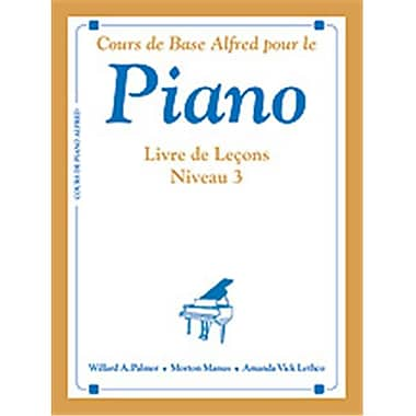 Alfred Basic Piano Course- French Edition Lesson Book 3 - Music Book (ALFRD40751)