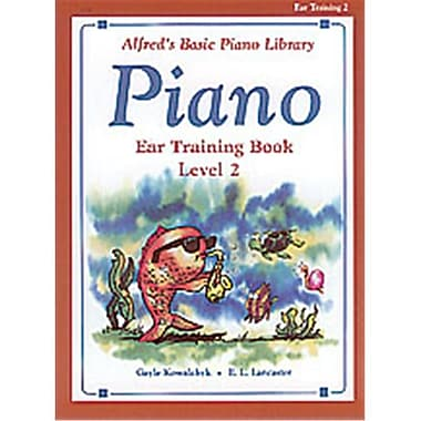 Alfred Basic Piano Course- Ear Training Book 2 - Music Book (ALFRD40761)