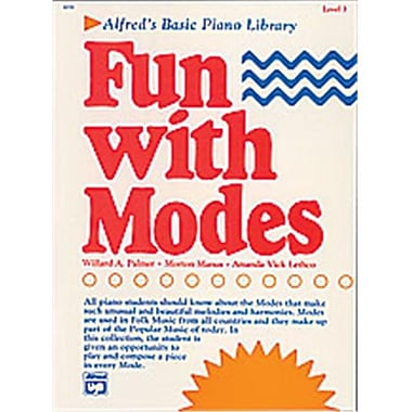 Alfred Basic Piano Course- Fun with Modes - Music Book (ALFRD40748)