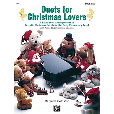 Alfred Duets for Christmas Lovers- Book 1 - Music Book (ALFRD43875)