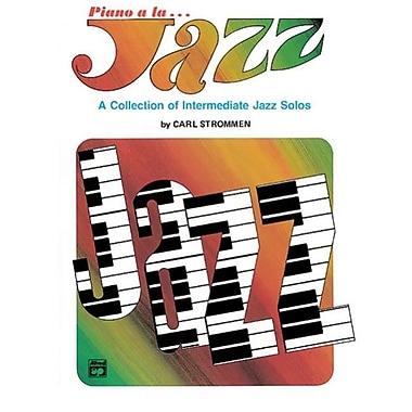 Alfred Piano a la Jazz- Intermediate - Music Book (ALFRD42234)