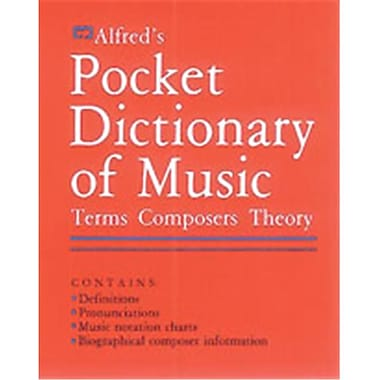 Alfred Pocket Dictionary of Music - Music Book (ALFRD48646)