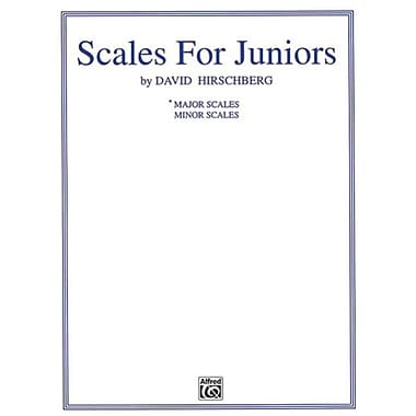 Alfred Scales for Juniors- Part 1- Major - Music Book (ALFRD41416)