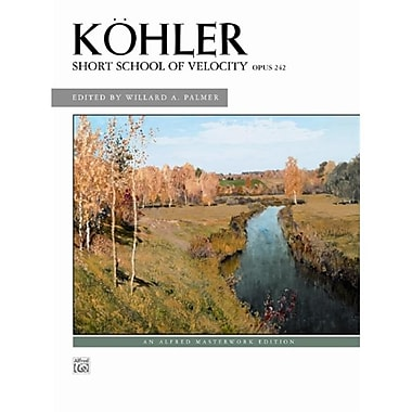Alfred Short School of Velocity Op. 242 - Music Book (ALFRD43038)