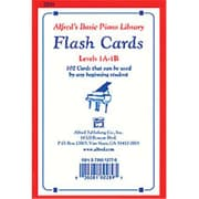 Alfred Basic Piano Library- Flash Cards- Levels 1A & 1B - Music Book (ALFRD40728)