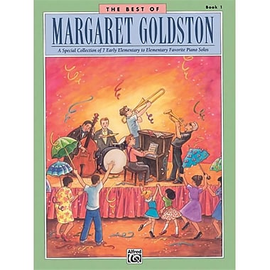 Alfred The Best of Margaret Goldston- Book 1 - Music Book (ALFRD42193)