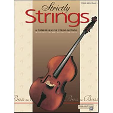 Alfred Strictly Strings- Book 1 - Music Book (ALFRD48212)