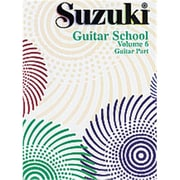 Alfred Suzuki Guitar School Guitar Part- Volume 6 - Music Book (ALFRD35550)