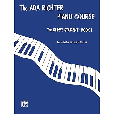 Alfred Ada Richter Piano Course- The Older Student- Book 1 - Music Book (ALFRD41619)