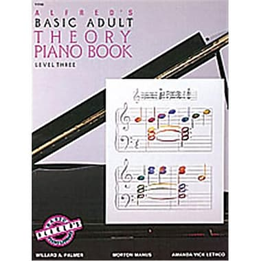 Alfred Basic Adult Piano Course- Theory Book 3 - Music Book (ALFRD40527)