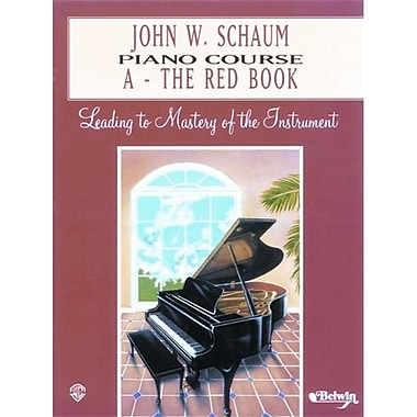 Alfred John W. Schaum Piano Course- A- The Red Book - Music Book (ALFRD41621)