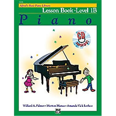 Alfred Basic Piano Course- Lesson Book 1B - Music Book (ALFRD40690)