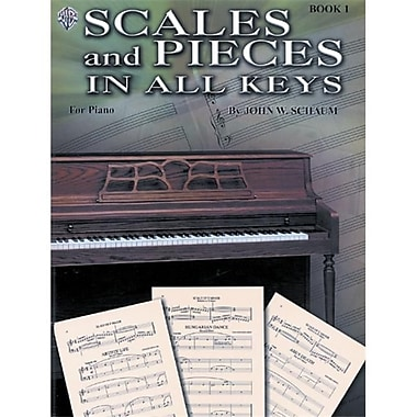 Alfred Scales and Pieces in All Keys- Book 1 - Music Book (ALFRD41714)