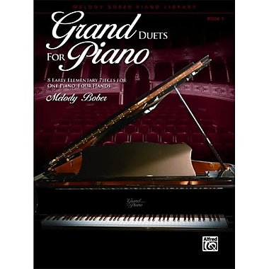 Alfred Grand Duets for Piano- Book 1 - Music Book (ALFRD43843)