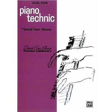 Alfred Piano Technic- Level 4 - Music Book (ALFRD41322)