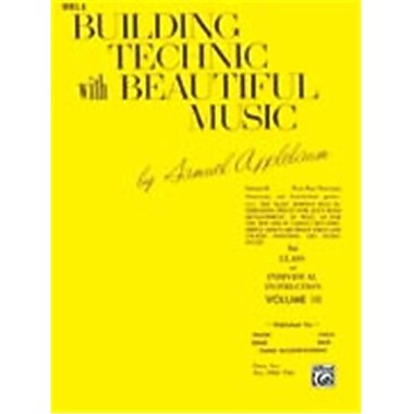 Alfred Building Technic With Beautiful Music- Book III - Music Book (ALFRD48318)