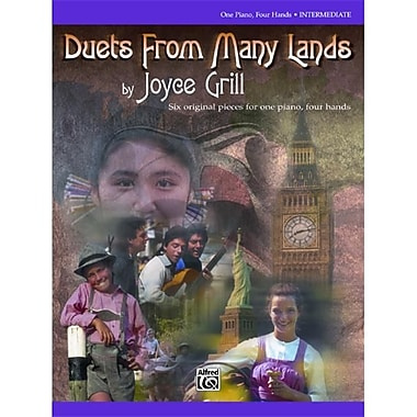Alfred Duets from Many Lands - Music Book (ALFRD43970)