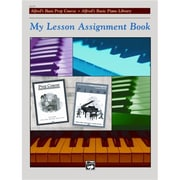 Alfred My Lesson Assignment Book - Music Book (ALFRD41935)