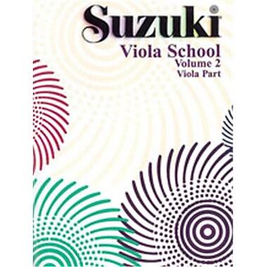 Alfred Suzuki Viola School Viola Part- Volume 2 - Music Book (ALFRD46539)