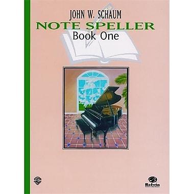 Alfred Note Speller- Book 1- Revised - Music Book (ALFRD41706)