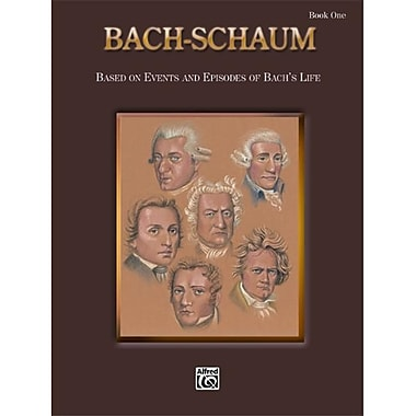Alfred Bach-Schaum- Book One - Music Book (ALFRD41708)