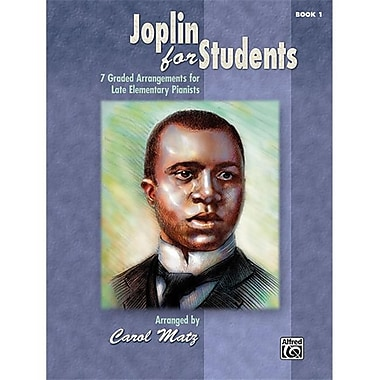 Alfred Joplin for Students- Book 1 - Music Book (ALFRD42823)