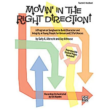 Alfred Movin in the Right Direction - Music Book (ALFRD35437)